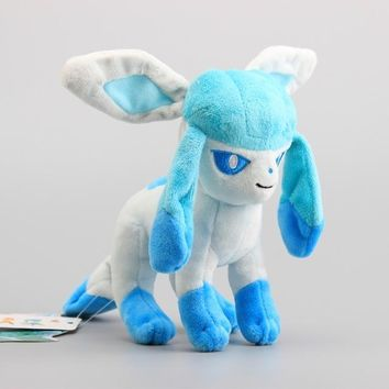 "8"" Glaceon Pokemon Plush"