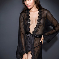 The NEW Darcy Sheer Robe with G-String