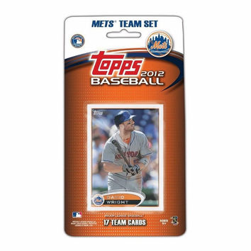 2012 Topps MLB Team Sets - New York Mets