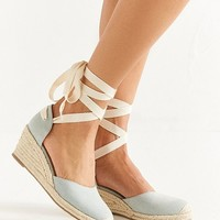 UO Espadrille Lace-Up Wedge Sandal | Urban Outfitters