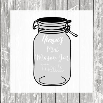 Hermie's Mini Mason Jar Meals - Hermit Crab Food - Organic - Hermit Crab - Pet Food