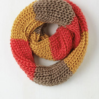 Colorblocking Craft Fair Cute Scarf by ModCloth