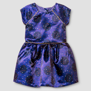 Cat & Jack Toddler Girls' Sateen Diamond Dress