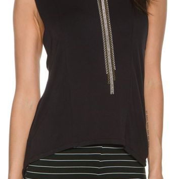 RVCA UNSPOKEN CUT OUT TANK