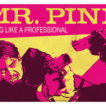 Reservoir Dogs Poster, Mr. Pink, Steve Buscemi - Reservoir Dogs Art Print.