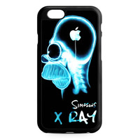 Homer The Simpsons X Ray iPhone 6 Case