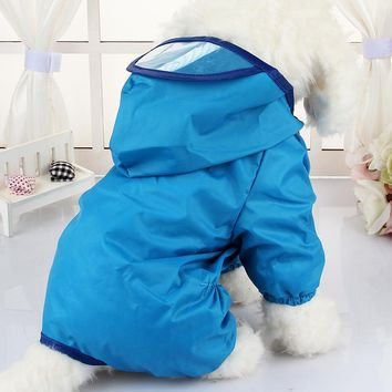 Hooded Dog Raincoats