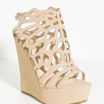 Eliza-67 Young Spirit Cutout Wedge