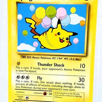 "Flying Pikachu 110/108 SECRET RARE Pokemon XY Evolutions TCG NM ""SECRET RARE"""
