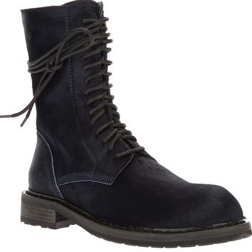Ann Demeulemeester Mid High Military Boots
