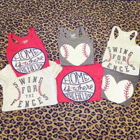Home is where the field is Baseball tank