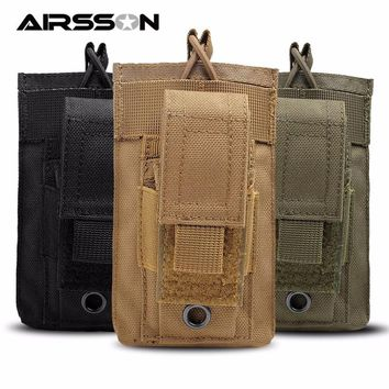 1000D Nylon Tactical Module Molle Pouch Magazine Bag Waist Pack Cell Phone Holder For Backpack & Vest Sport Storage Bag Carrier