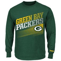 Majestic Green Bay Packers Shed Blockers Tee