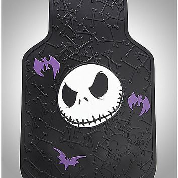 Jack Face Nightmare Before Christmas Floor Mat - Spencer's