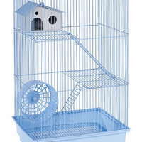 Three Story Hamster & Gerbil Cage