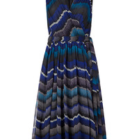DVF BALI CHIFFON WRAP DRESS