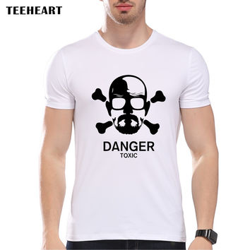 Men Jesse Logo Printing Breaking Bad Jesse Pink man t-shirts Personalized Top Tee Shirts