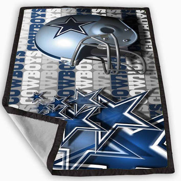 Dallas Cowboys NFL Football Team Blanket for Kids Blanket, Fleece Blanket Cute and Awesome Blanket for your bedding, Blanket fleece *