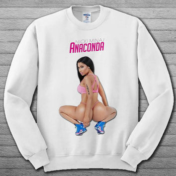 nicki minaj anaconda Sweatshirt # For Women , Men  Sweatshirt