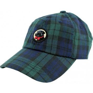Frat Hat in Navy Tartan Plaid by Southern Proper