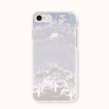 iPhone 7 Case, iPhone 7 Plus Case, iPhone 6/6S Case, iPhone 6/6S Plus Case, iPhone 5/5S/SE Case, SAMSUNG Galaxy Case - snow tree