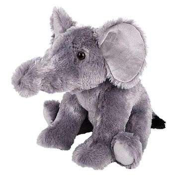 Huge 14 Inch Stuffed Elephant Zoo Animal Plush Domain Collection