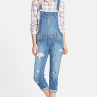 Women's Paige Denim 'Sierra' Distressed Overalls (Conner)
