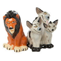 Disney The Lion King Scar And Hyenas Magnetic Salt & Pepper Shaker Set