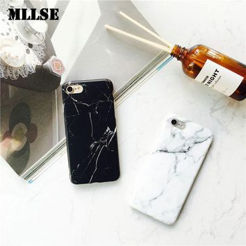 Marble Case For iPhone 6 6s 6Plus 7 7Plus  Silicone Cases Cover For iPhone 6 s 7 Plus Soft TPU ipone Capa Capinha Coque Shell