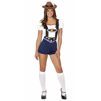 Sexy Pin Up Bar Maid Halloween Costume