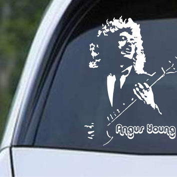 AC/DC Angus Young (02) Die Cut Vinyl Decal Sticker