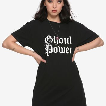 Ghoul Power Girls T-Shirt Dress