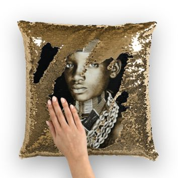 Tribe Sequin Pillow Cover