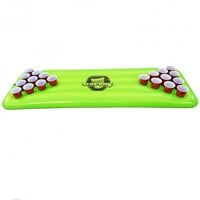 Green Floating Beer Pong Table