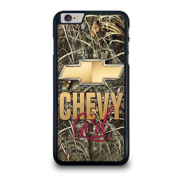 camo chevy girl iphone 6 6s plus case cover  number 1
