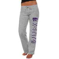Kansas State Wildcats Womens Frosh Fleece Sweatpants - Ash