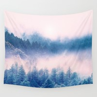 Pastel vibes 03 Wall Tapestry by Viviana Gonzalez