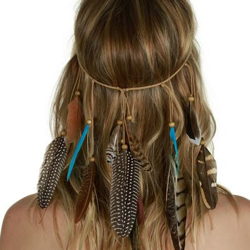 Turquoise Young Wild & Free Headpiece