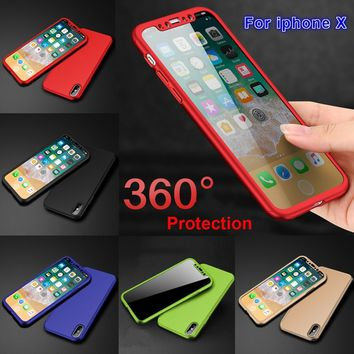 Eye-catching Luxury 360 Degree Protection Mobile Phone Case Capa Cover for iPhone X 8 7 6 6s Plus Samsung Galaxy S8 S8 Plus Note