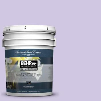 BEHR Premium Plus Ultra, 5-gal. #650C-3 Light Mulberry Satin Enamel Interior Paint, 775005 at The Home Depot - Tablet