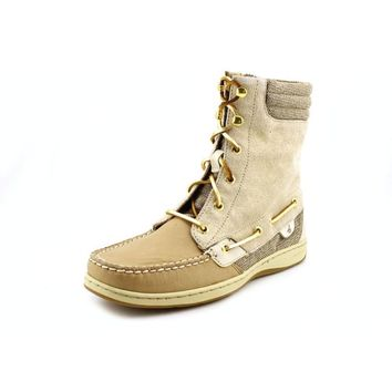 Sperry Top Sider Hikerfish Womens Nubuck Leather Fashion Mid-Calf Boots