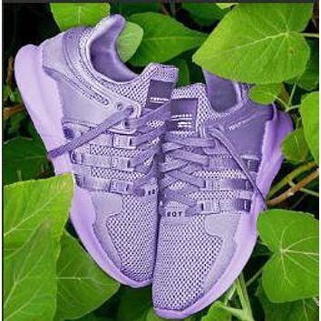 Adidas EQT Support ADV Trending Women Casual Sport Running Shoe Sneakers Purple I/A