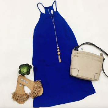 Gameday Ready Dress - Blue