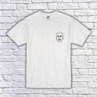 Nicolas Cage Outline T-Shirt - Drawing - Original - Summer - Shirt - Tumblr - Movie - Cinema