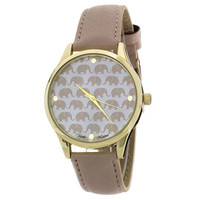 This elephant watch is cute, trendy and it has an amazing meaning behind it. Many African cultures revere the African Elephant as a symbol of strength and power. It is also praised for its size, longevity, stamina, mental faculties, cooperative spirit, a