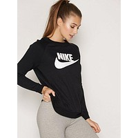 "Women Fashion ""NIKE"" Round Neck Top Sweater Pullover Sweatshirt"