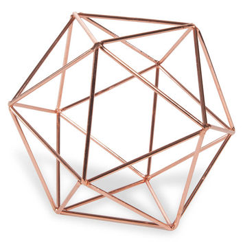 COPPER copper-colour metal wire ball D 12 cm | Maisons du Monde