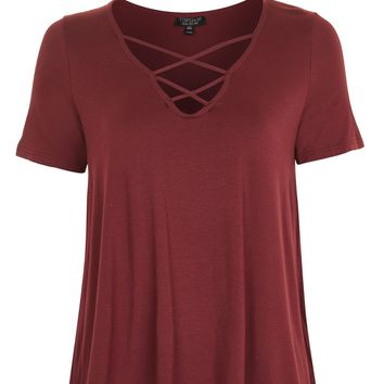 Cross Front Swing Top | Topshop