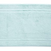 Solid Dobby Bath Mat, Light Aqua, Mats