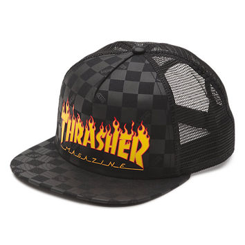 Vans x Thrasher Trucker Hat | Shop At Vans